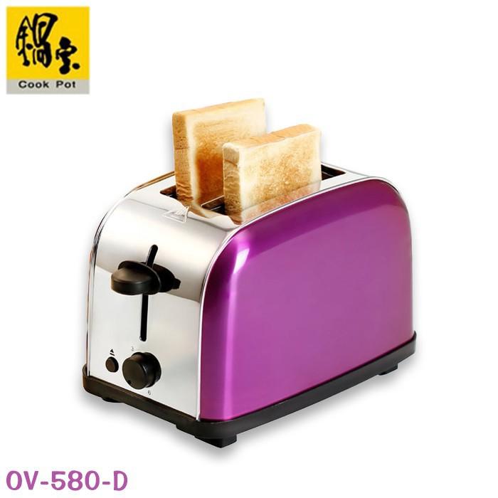 鍋寶 不鏽鋼 烤吐司 烤麵包機 薄片 OV-580-D 廠商直送 現貨