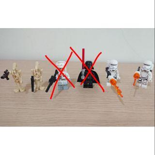 LEGO 樂高 75166 75058 單售人偶 星際大戰 StarWars 徵兵 風暴兵 處刑者 白兵 75207 台北市