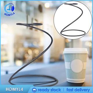 [CAMILA] 家用廚房廚房ACC的鐵咖啡過濾器架儲備杯咖啡杯架