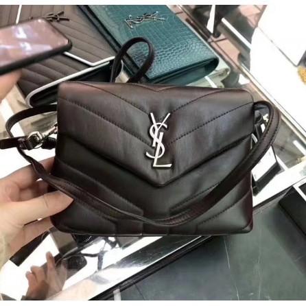 全新正品 SAINT LAURENT BAG TOY LOULOU Mini 467072 Ysl 黑色 銀釦