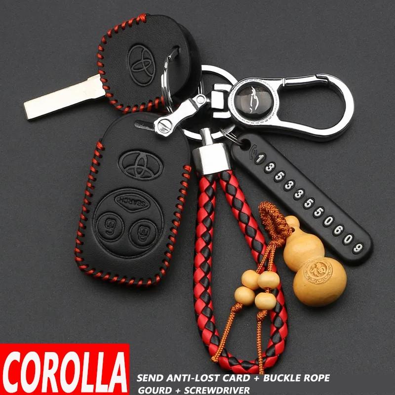 適用於豐田卡羅拉 Vios Gen 2 Avanza 2008 2009 2010 2011 2012 翻蓋鑰匙配件汽車