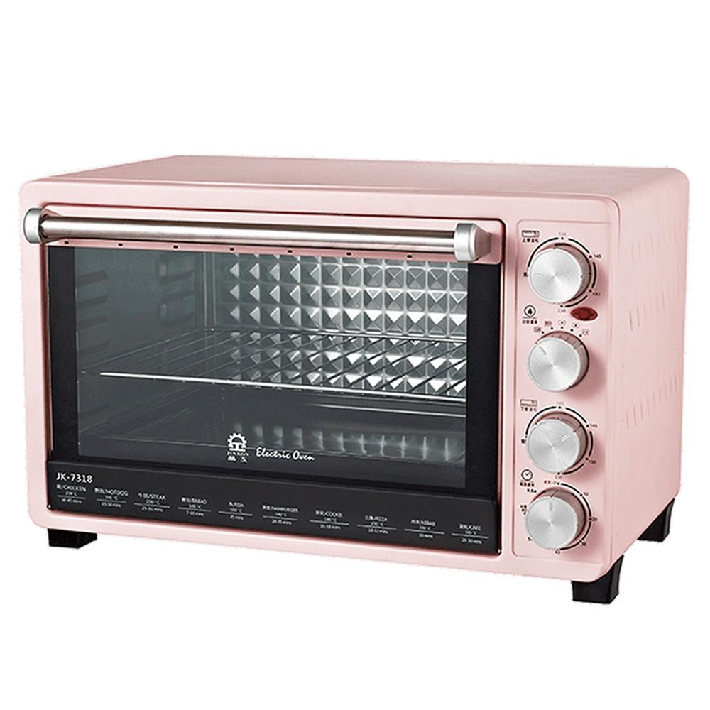 晶工 30L雙溫控旋風電烤箱 JK-7318 廠商直送