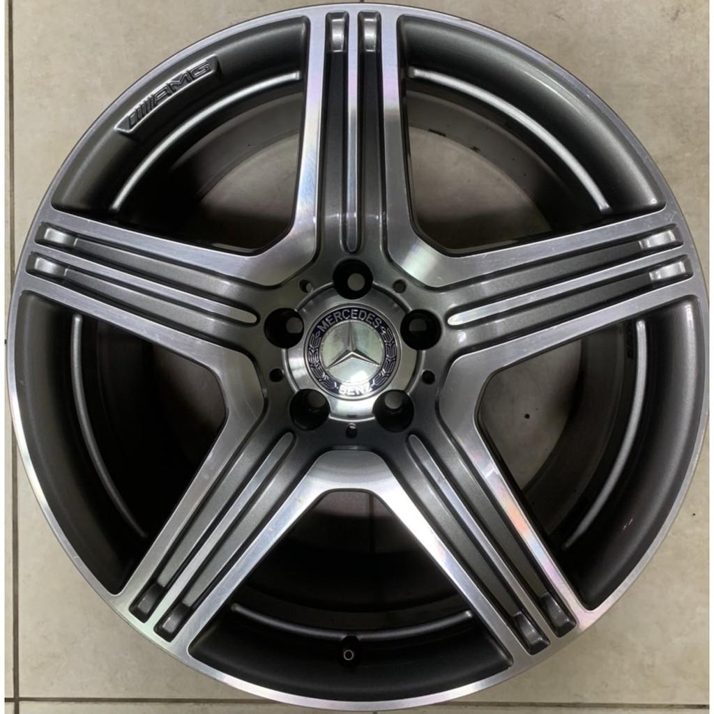 【益和輪胎】19吋賓士BENZ W218前後配AMG原廠鋁圈 5孔112