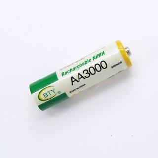 BTY 3號AA 鎳氫充電電池 AA3000 另有1.5v充電鋰電池 非14500 3.7v 3.2V鋰鐵 臺中市