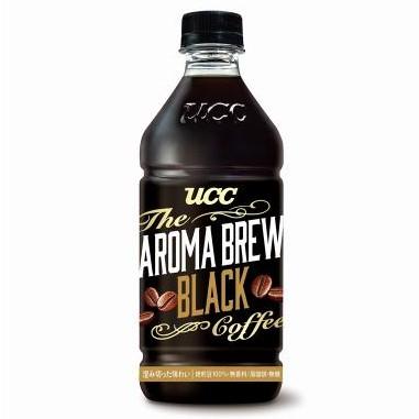 【現貨/宅配免運】UCC 黑咖啡 艾洛瑪 黑咖啡525ml(24入) AROMA BREW 黑咖啡 咖啡