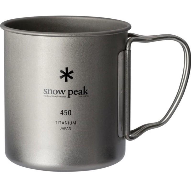<現貨> snow peak 單層鈦杯 450ml