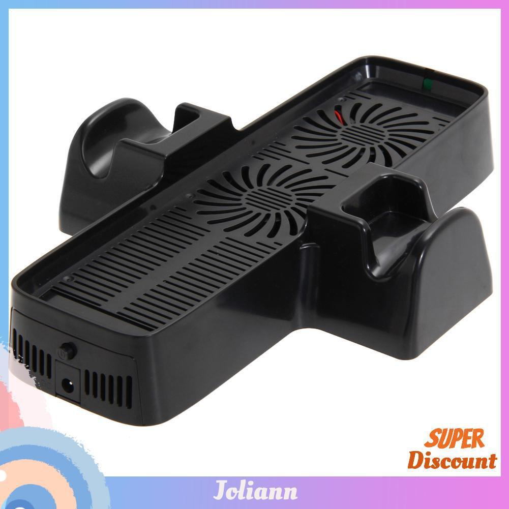 帶有用於 Xbox 360 遊戲控制器的雙底座冷卻風扇