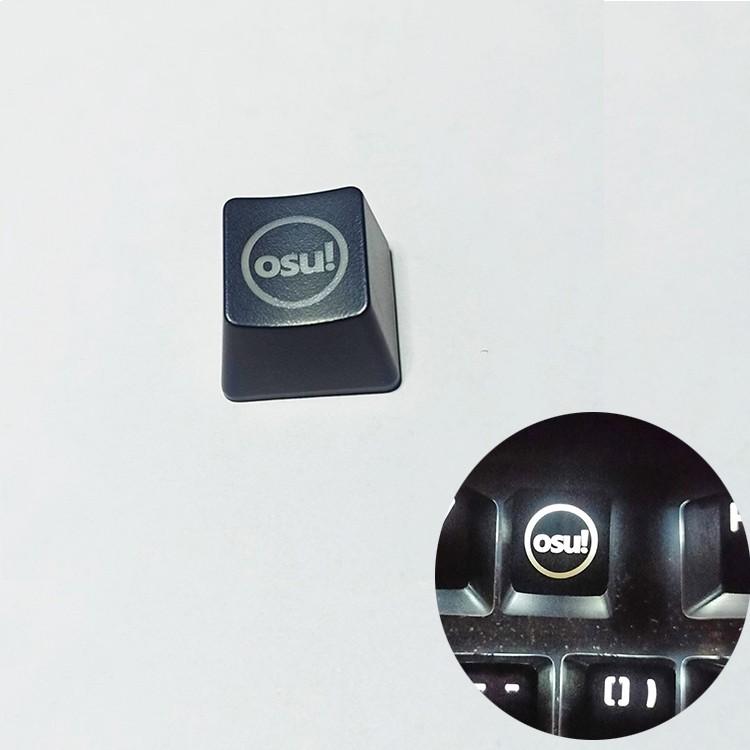 個性半透明鍵帽 Osu! 用於機械鍵盤維修部件的替換 Abs 鍵帽