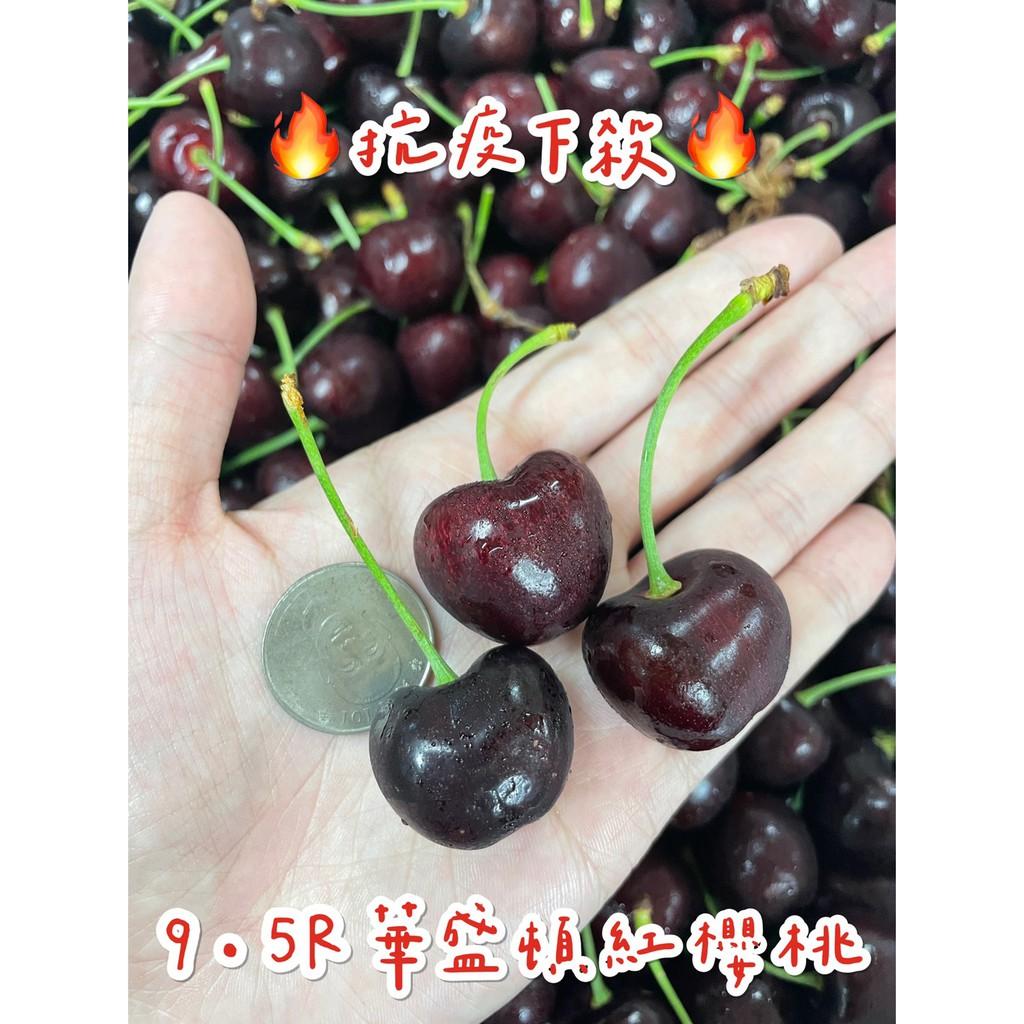 【茂生水果】🔥抗疫下殺、衝評價🔥9.5R美國華盛頓紅櫻桃 新鮮現裝 現貨 一公斤裝