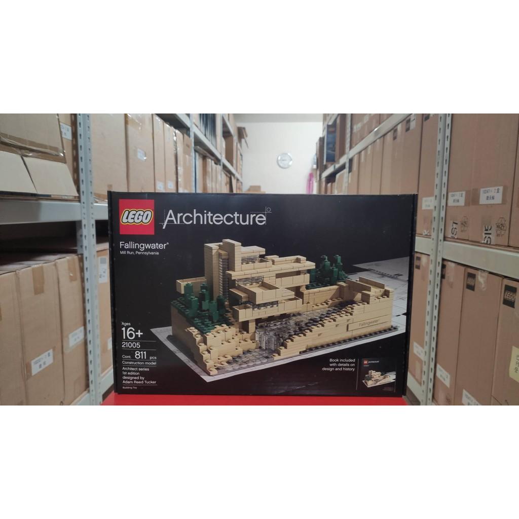 全新未拆 絕版品 樂高 LEGO 21005 落水山莊 建築師系列  現貨可面交