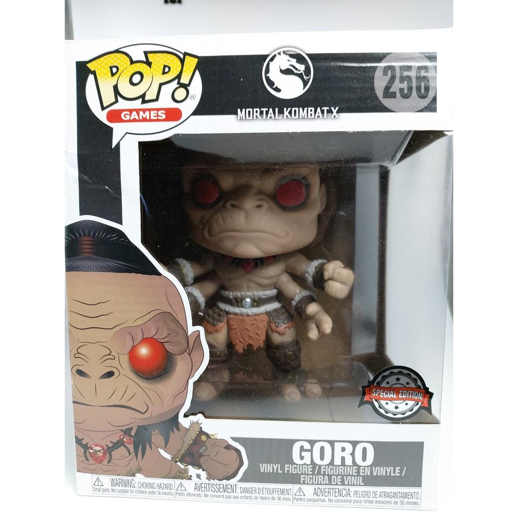 =購斯特=拆封擺品澳版 FUNKO POP Mortal Kombat: Goro 6吋