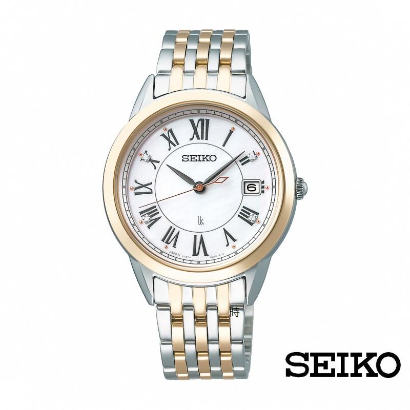 SEIKO精工 太陽能 SUT396J1 羅馬字腕錶 V147-0CR0KS