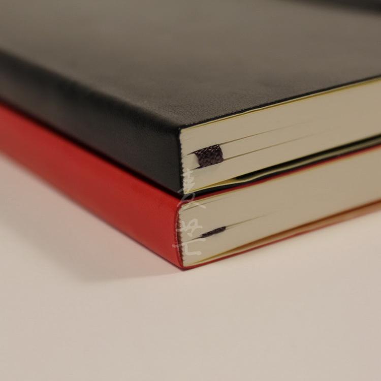 筆記本 記事本 麥芒綁帶A5筆記本手賬 燈塔同款軟面記事本文具 moleskine型