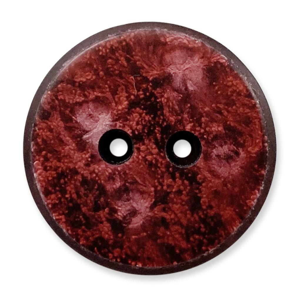 台灣製 樹脂釦 2孔 霧面 仿岩石紋路 polyester 10顆/組 西服鈕釦 大衣鈕釦 0251 15號色
