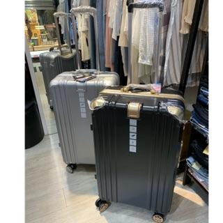 CODY小店 出清超美 唯美主義 SGS認證 LETTI 鋁框 黑金 銀色 20吋 26吋 29吋 旅行箱 行李箱 新北市