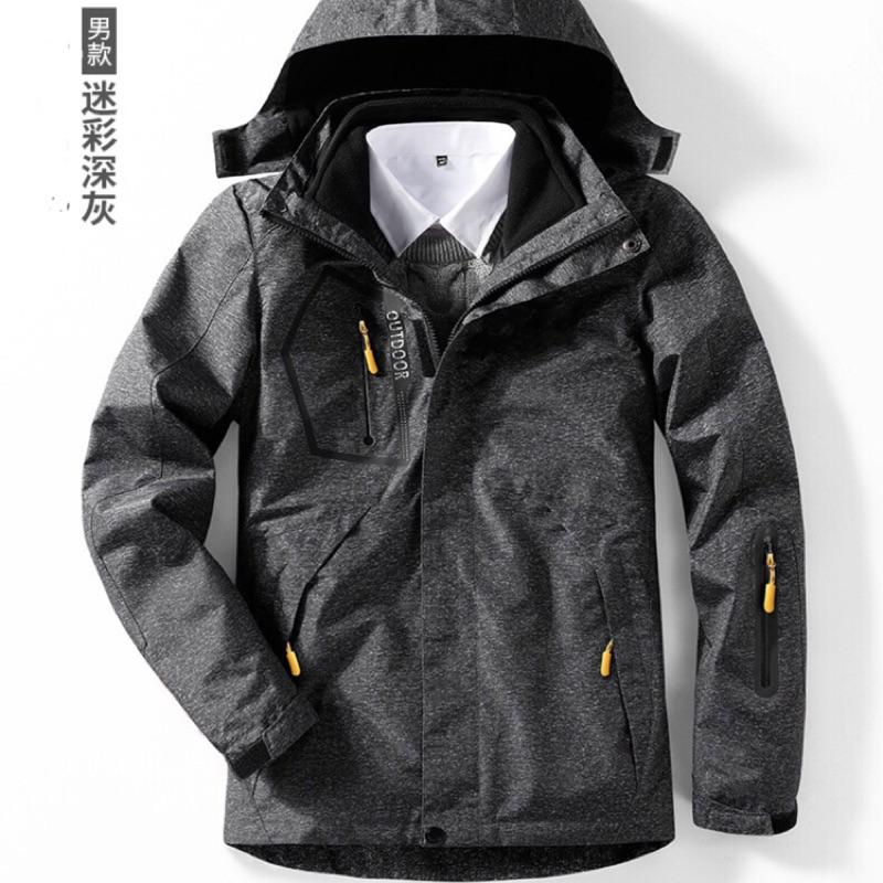 正版 機能輕量防風率性薄衝鋒衣 特價 one boy 同款 升級版 厚款 三合一 兩件式 4.0