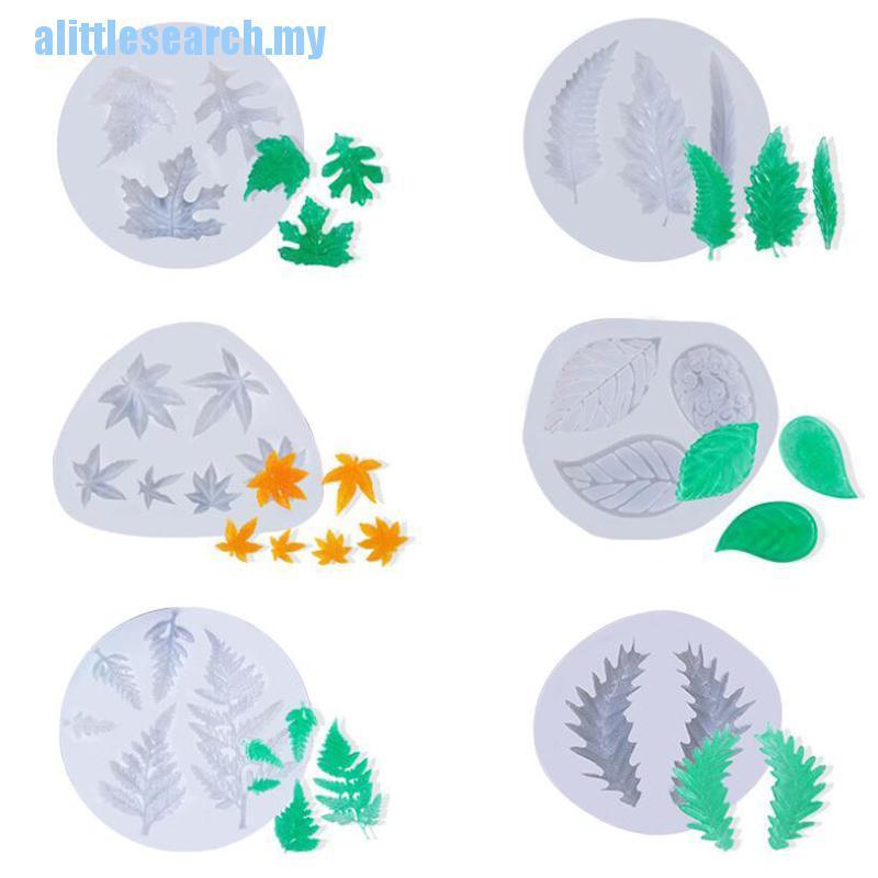【 Ali 】矽膠楓葉模具 Diy 手工飾品工藝裝飾樹脂模具 T