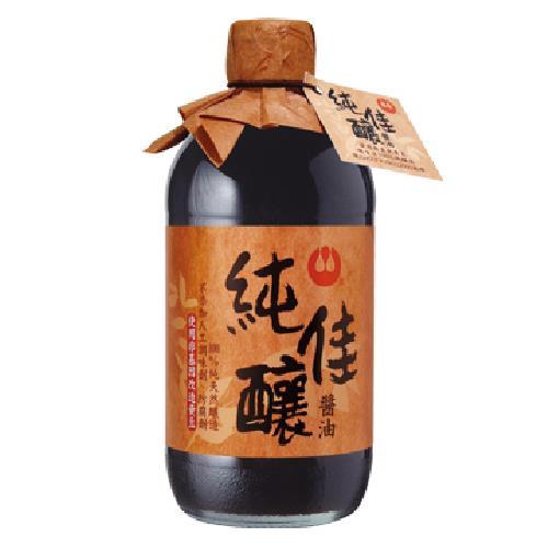 萬家香 純佳釀醬油(450ml/瓶)[大買家]