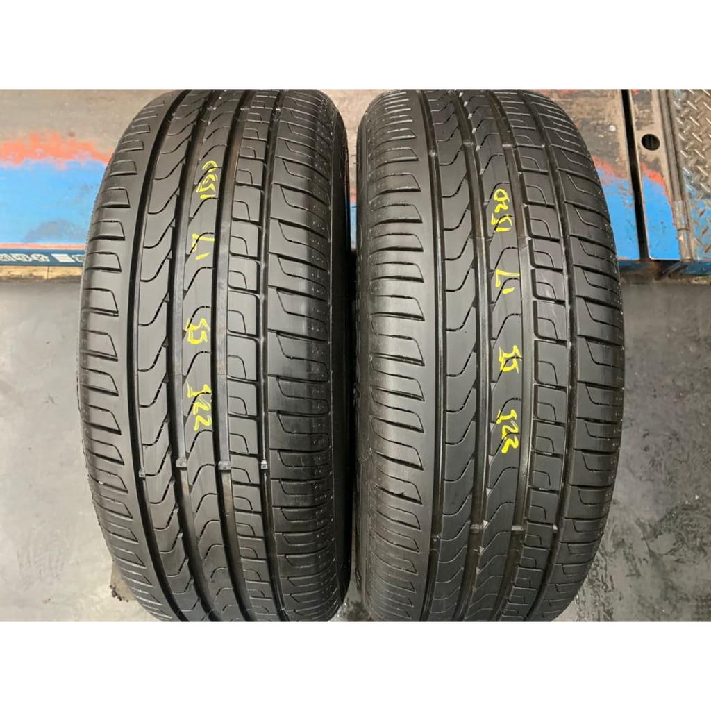*正順車業* 中古輪胎 中古胎 落地胎 維修 保養 底盤 型號 225 55 17 倍耐力 CP7 兩條