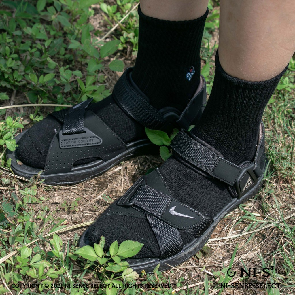 ❤現貨❤NIKE ACG AIR DESCHUTZ  機能涼鞋 全黑/黑焦糖底 CT2890-005