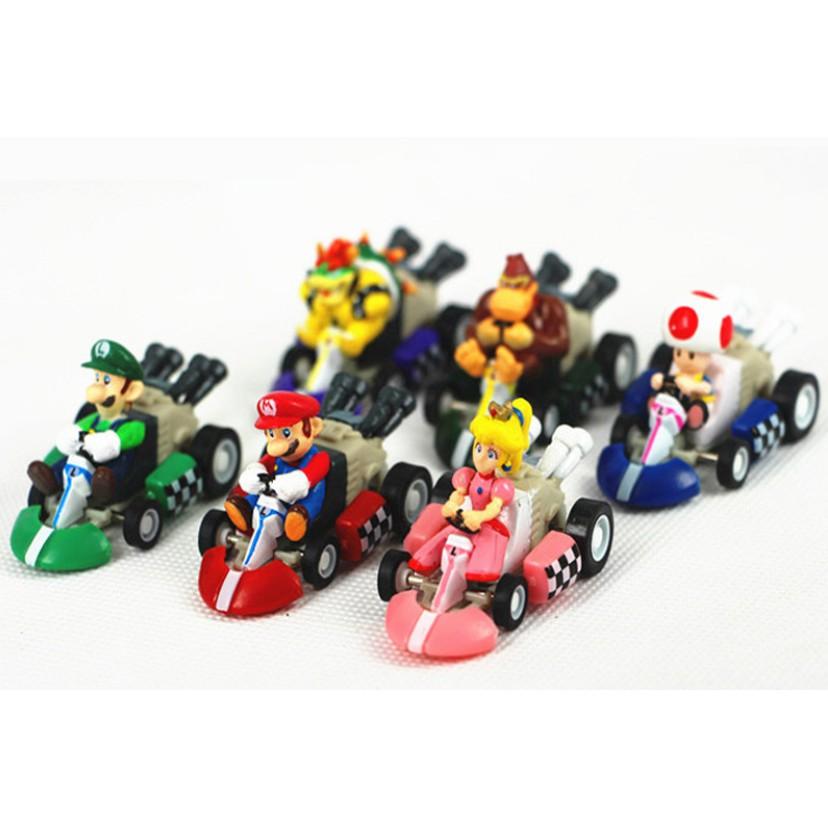 【全新】超級瑪利歐 兄弟 迴力車 瑪莉歐 公仔 六款 拆售 任天堂 玩具 迷你款
