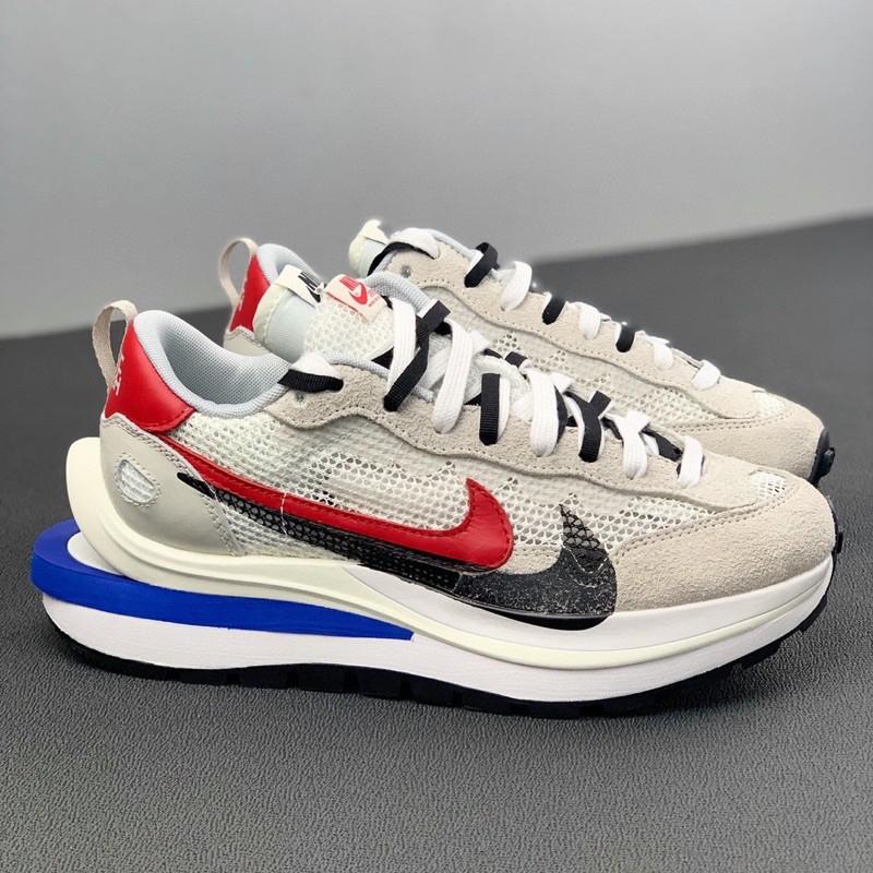 "Sacai x Nike VaporWaffle""Royal Fuchsia""灰白"