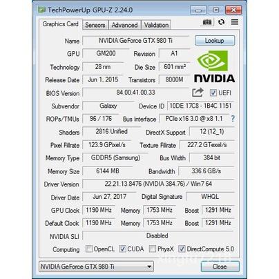 【現貨 廠家直銷】影馳 GTX1070TI 8G GTX1080 8G 名人堂 GTX1080TI直播遊戲顯卡