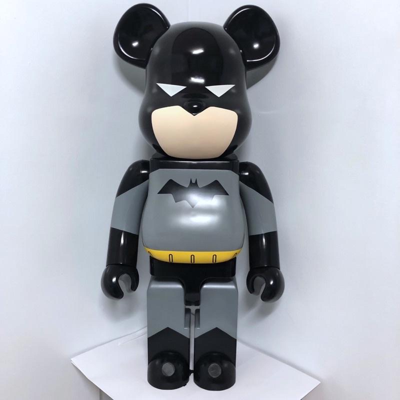 Be@rbrick Bearbrick Batman 1000% DC 初代蝙蝠俠 非空山基鋼鐵人蜘蛛人kaws神奈川