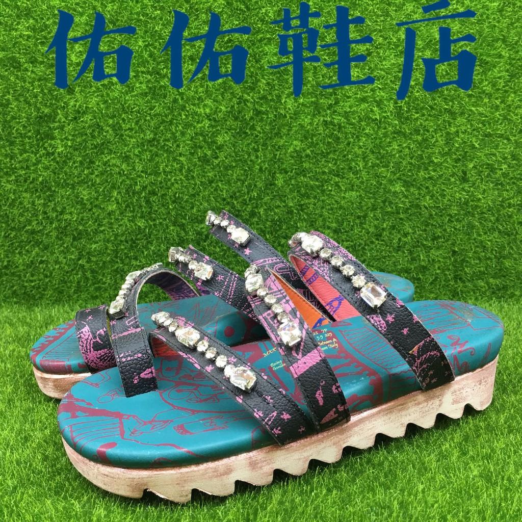 【佑佑鞋店】 Macanna 麥坎納 謬斯系列  手工縫鑽  黃牛皮 棉羊內裡  氣墊拖鞋 630277