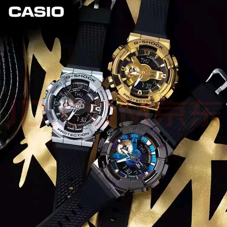 {Gshock New} Casi0 G-Shock Gm-110G-1A9 / Gm-110-1A 金屬 110 系列