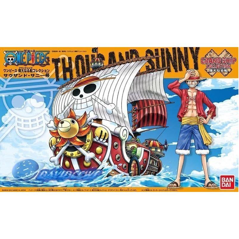 【鋼普拉】現貨 BANDAI 海賊王 ONE PIECE 偉大航路 偉大的船艦 海賊船#01 草帽海賊團 千陽號