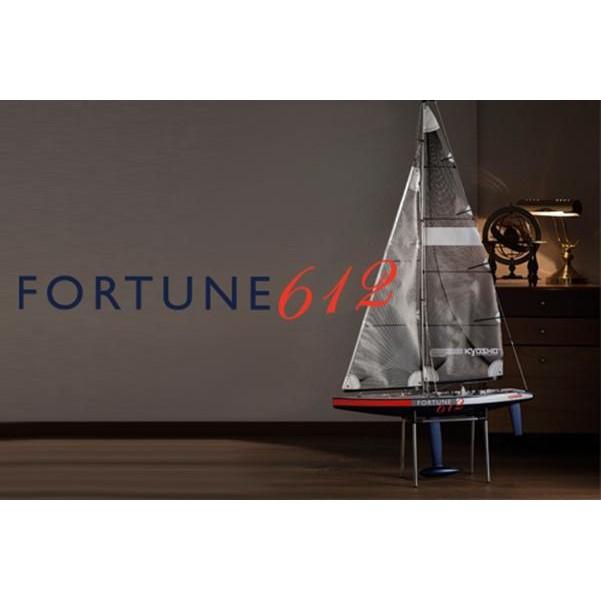 ◣瘋玩具◥ Kyosho 京商 FORTUNE 612 III 富裕號3代 無動力遙控帆船 一體成形船體 #40042S
