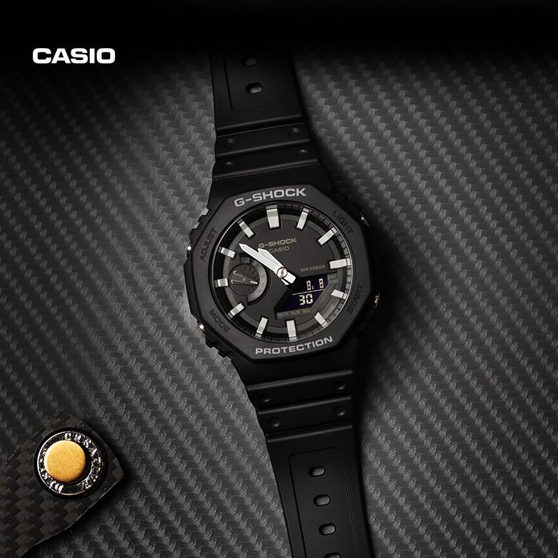 卡西歐 G-Shock GA2100 GA-2100-4A GA-2100-1A 中性防水手錶男士運動手錶女士休閒手錶