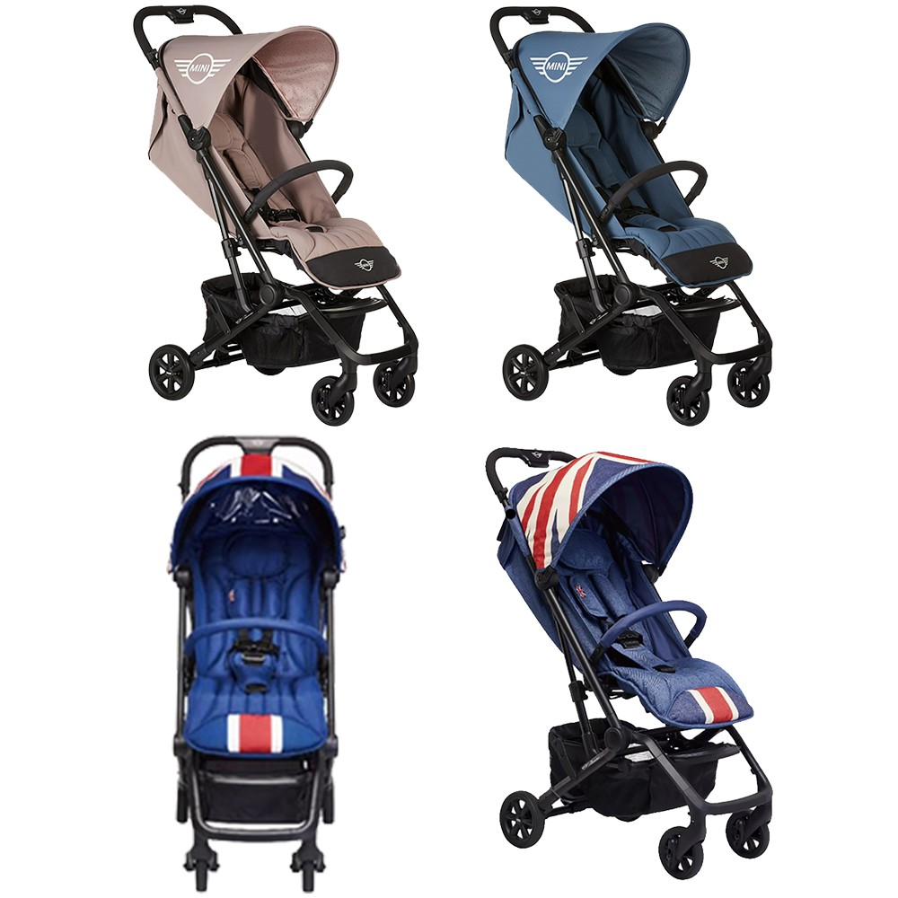 EasyWalker Buggy XS 嬰幼兒手推車 送全配蚊帳,雨罩,收納袋,肩背帶 Mini Cooper聯名經典款