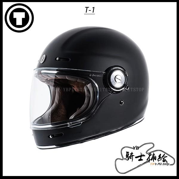 ⚠YB騎士補給⚠ TORC T-1 Matte Black 消光黑 樂高帽 復古 全罩 安全帽 透氣 美國 T1