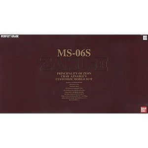 【上士】BANDAI 1/60PG MS-06S 沙克II (紅)_71870 071870