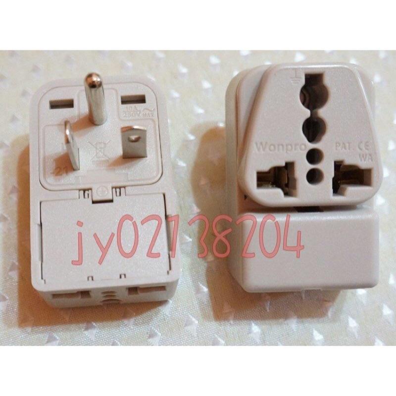 台灣220V冷氣插座萬用1變2轉接頭 T字轉接頭 冷氣轉接插座 220v 延長線 1轉2 1to2