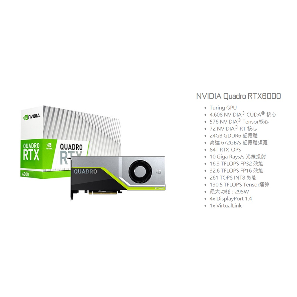 NVIDIA RTX6000