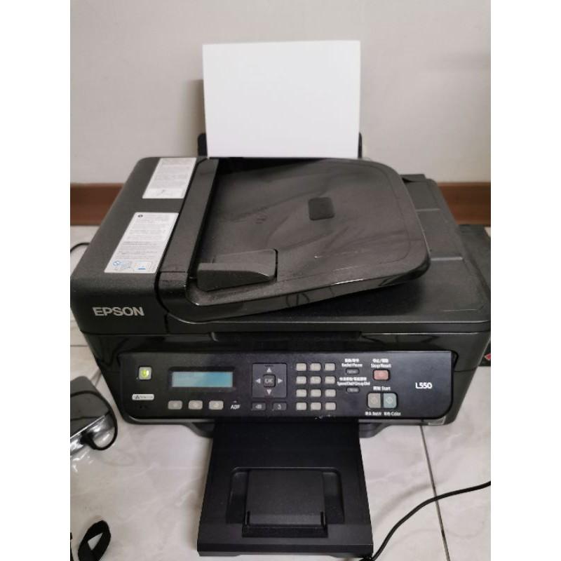 EPSON L550  二手連續供墨 印表機 用不到便宜出售 中壢面交