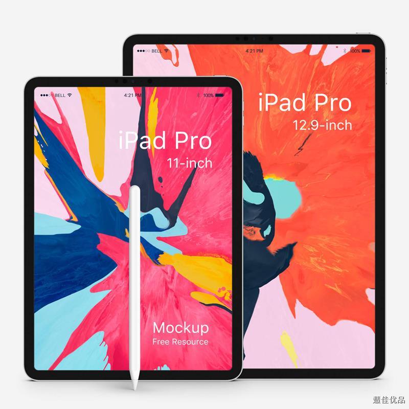 ¤♨☽二手平板ipad pro 11寸 2018款全面屏2020款12.9寸 Air4新款 21款