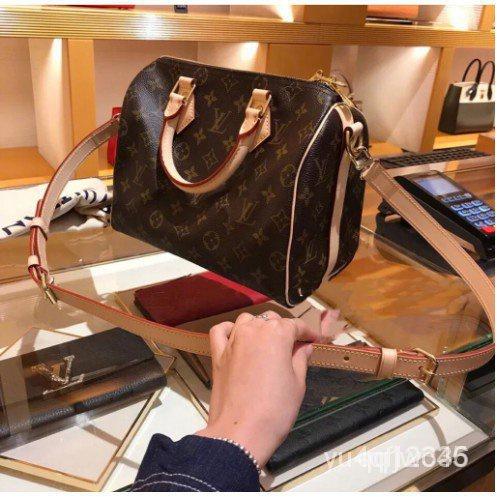 二手二手Vuitton LV SPEEDY BANDOULIÈRE 25 附背帶 手提包 M41113枕頭包 hVxQ