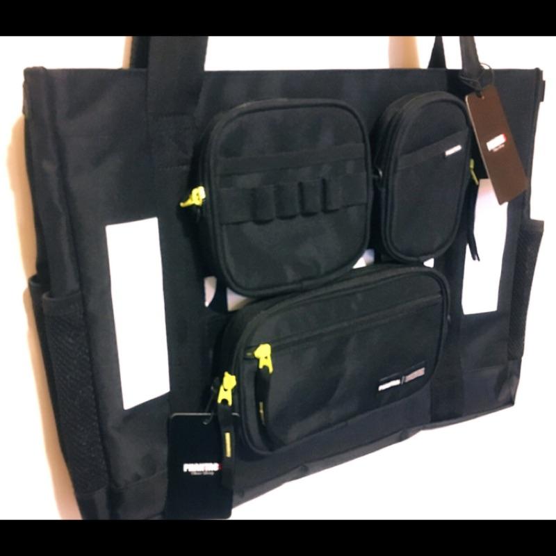 杰倫PHANTACi戰術外掛式托特包+隨身小包三件組