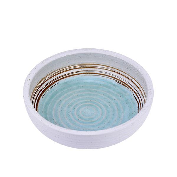 【堯峰陶瓷】日式餐具 綠如意系列 8吋厚缽 |沙拉碗|水果碗|冰品碗|套組餐具系列