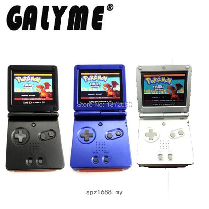 熱賣 3 色 R 翻新適合 Gameboyadvance Sp 遊戲機 Ags-101 背光背光屏幕男孩高級 Sp 保護