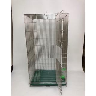 🔥大特價🔥全新改款1.5尺雙層白鐵籠#304白鐵#蜜袋鼯#鳥用 (籠子全部使用氬氣去邊角加工處理) 臺南市