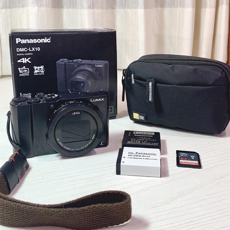 近全新Panasonic DMC-LX10 64g 相機