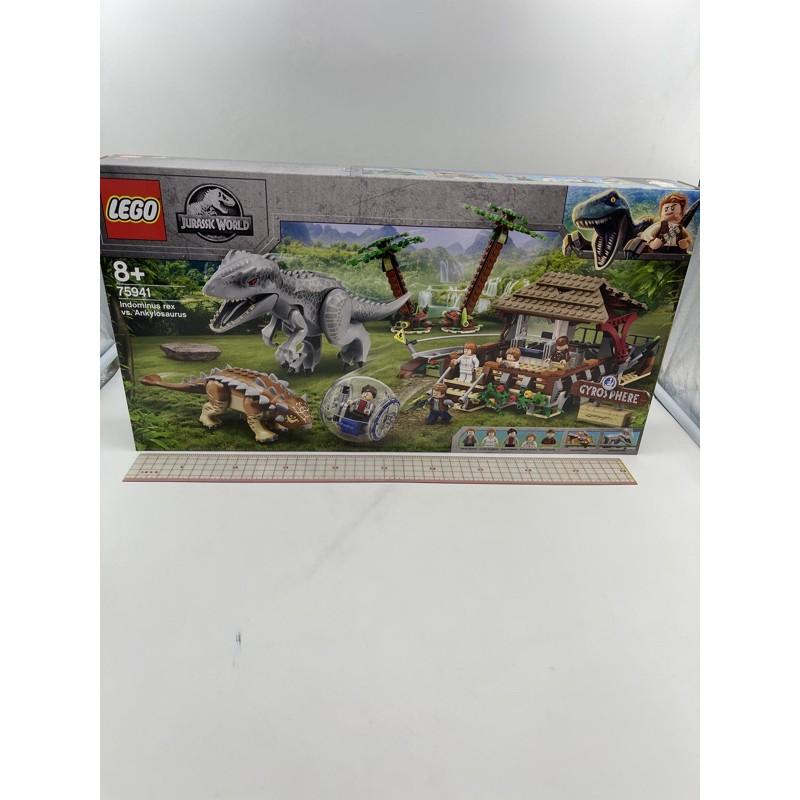 全新樂高75941 $4399 Indominus Rex VS.Ankylosaure
