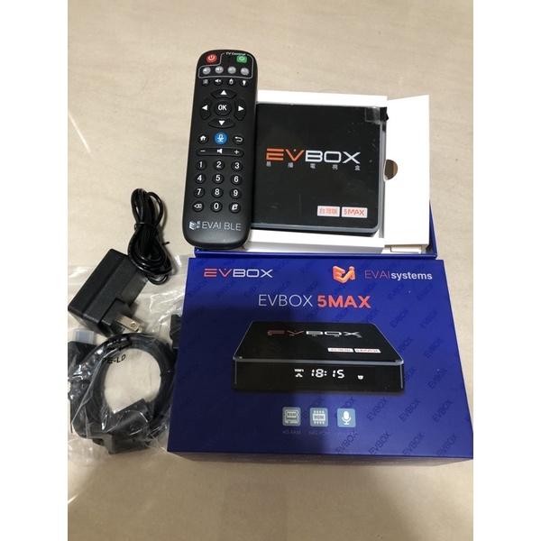 【二手易播】最新越獄版5MAX商品9成新 易播盒子 易播電視盒 機上盒 電視盒 EVBOX EVPAD  5PRO