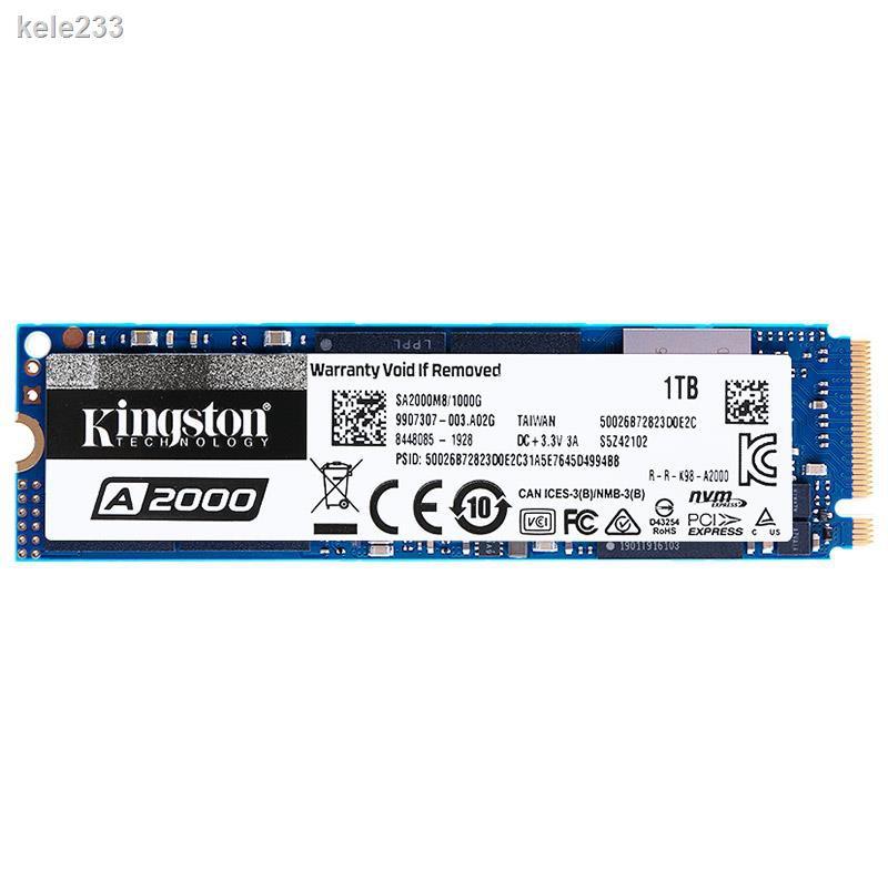 金士頓 A2000 250G 500G 1T 固態硬盤M2 SSD M.2 NVME硬盤 KC2500