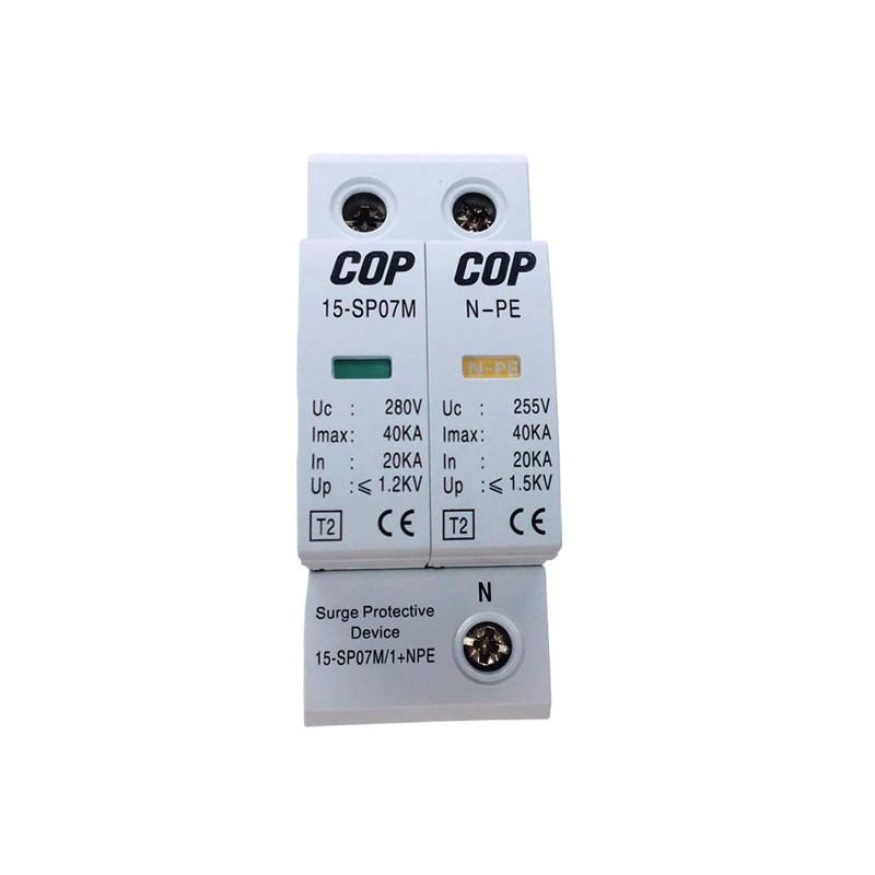 220V 並聯式交流電源突波保護器, 15KV等級 (15-SP07M-2)